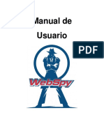 Manual de Usuario WebSpy