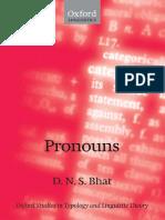 Bhat - Pronouns.pdf