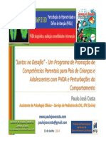 Workshop Juntos No Desafio 4º Simposio PHDA