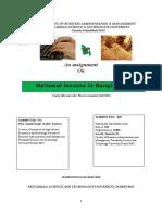 Assignment of Macro Economics Final