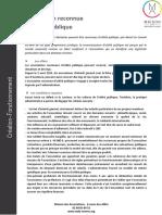 Associations Reconnues d'Utilité Publique