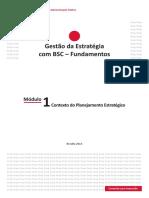 Módulo 1 GESTAO BSC Contexto-do-Planejamento-Estrategico
