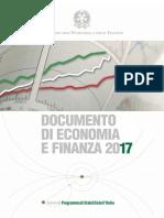 Sez.1 - Programma Di Stabilita 2017