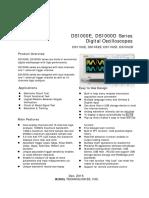 DS1000E datasheet