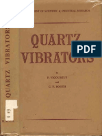 Vigoureux - Quartz Vibrators