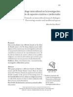 Hacia Un Diálogo Intercultural en La Investigación