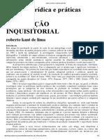 Roberto Kant de Lima - Cultura jurídica e práticas policiais.pdf