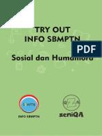 SoalSoshum Try Out Info SBMPTN - ZeniQA