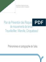 Le PPR de Trouville-sur-Mer, Villerville et Cricqueboeuf