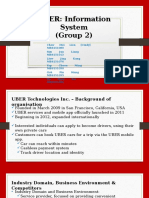 Group 2 - UBER Case Example (Information Systems)