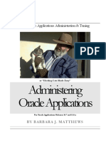 Oracle Database & Applications Administration & Tuning