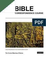 Bible Law Lesson 2