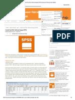 Contoh Soal RAL Faktorial Dengan SPSS _ Wawasan Peternakan Dan Statistik