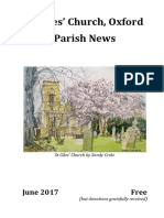 St Giles June 2017 Parish News