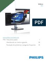 Monitor Philips 288P6LJEB - Manual
