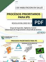 6 Procesos Prioritarios Para Ips
