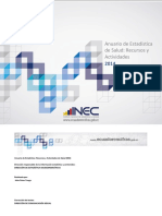 Anuario Rec Act Salud 2014