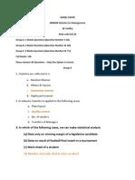 MB0040-Statistics for Management-Answer Keys