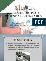 Desinfeccion de Materiales Equipos y Ambientes Hospitalarios Mary