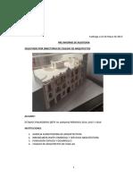 Preinforme de Auditoria Colegio Arquitectos AG