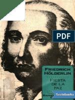 Fiesta de La Paz - Friedrich Holderlin
