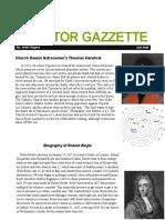 scientific revolution newsletter pdf