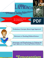 The Legal Approach (PPT)