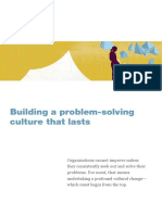 2nd Building a Problem Solving Culture That Lasts
