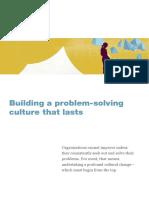 2nd Building a Problem Solving Culture That Lasts