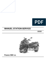 Gilera Fuoco 500 WorkShop Manual (French)