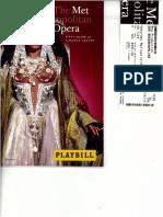 Der Rosenkavalier - Autographs