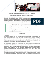 Ecwr Harassment Campaign Fact Sheet