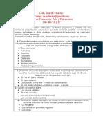 ACTIVIDADES PARA ESTUDIANTES DE 2do AÑO A-B ÁREA ARTE Y PATRIMONIO PROFESORA MAYDÉ CHACÓN