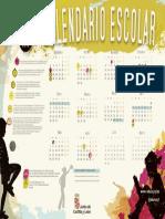 Calendario Escolar 2017 2018 A4
