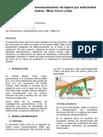 Optimización del dimensionamiento de tajeos por subniveles en cuerpos mineralizados - Mina Cerro Lindo
