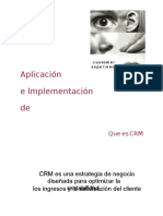 CRM Implementación