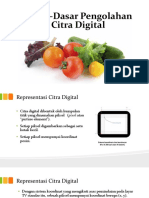 Dasar-Dasar Pengolahan Citra Digital