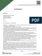 27.346-Impuesto a Las Ganancias 2017