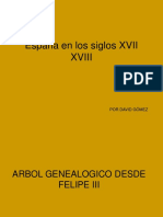 España en Los Siglos XVII XVIII