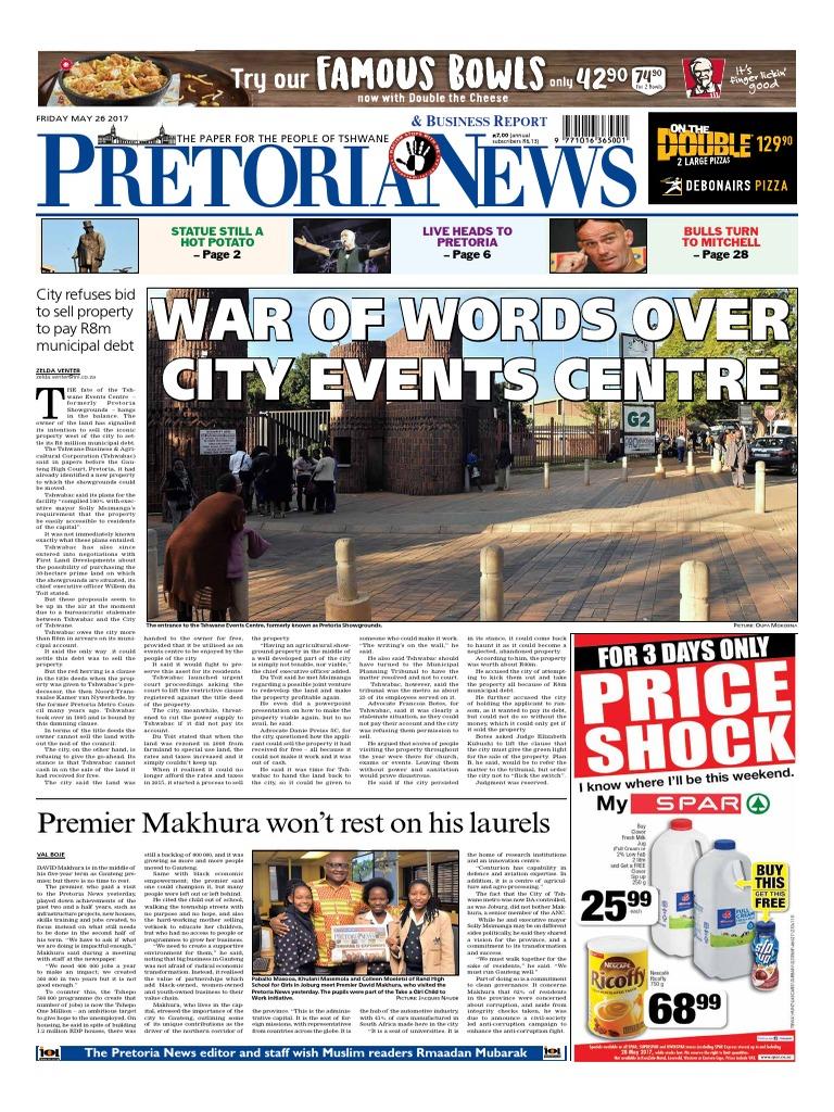 58cebb6617d The Pretoria News - May 26, 2017   Police (544 views)