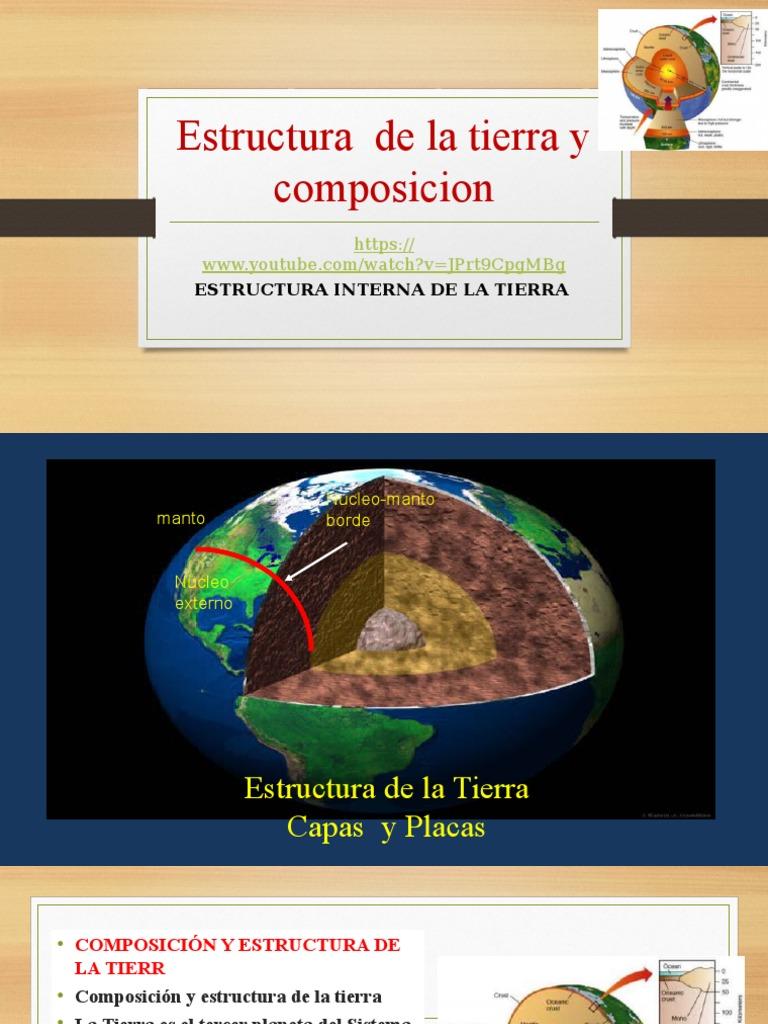 Clase 3 Estructura Y Composicion De La Tierra 2016