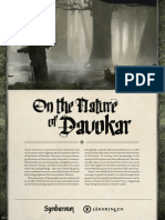 Symbaroum on the Nature of Davokar