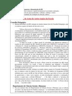Documentos de funcionamento e dinamização da BE