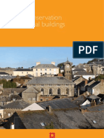 Energy Conservation in Traditional Buildings
