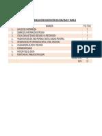 Pauta de Evaluación Disertación Discapacidad y Familia