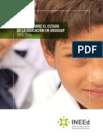 Informe Sobre El Estado de La Educacion en Uruguay 2015-2016