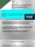 Expo Estandares de Teleinformatica