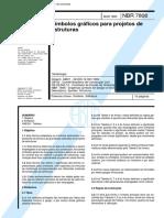 NBR 07808 - 1982 - Simbolos Graficos Para Projetos de Estruturas.pdf