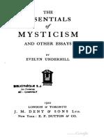 Underhill-Essentials of Mysticism 1920