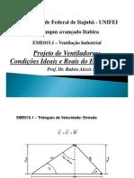 Aula-5 - 1o Semestre EME015.1 - Projeto de Ventiladores (1)